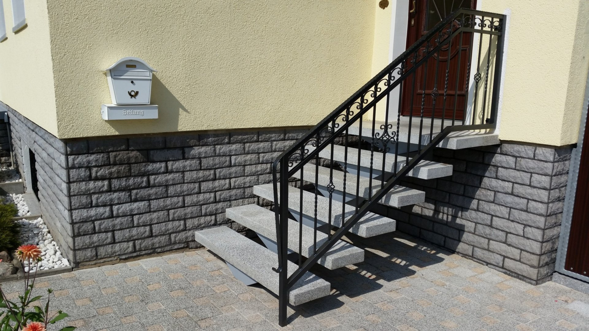 Elegant Metallzäune Bilder Das Beste Von Mk - Treppengeländer - 2
